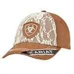 Ariat Ball Cap Brown/Lace