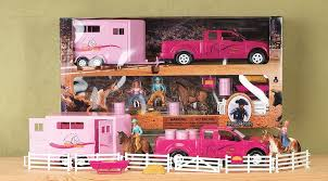 Bigtime Rodeo Pink Truck/Trailer