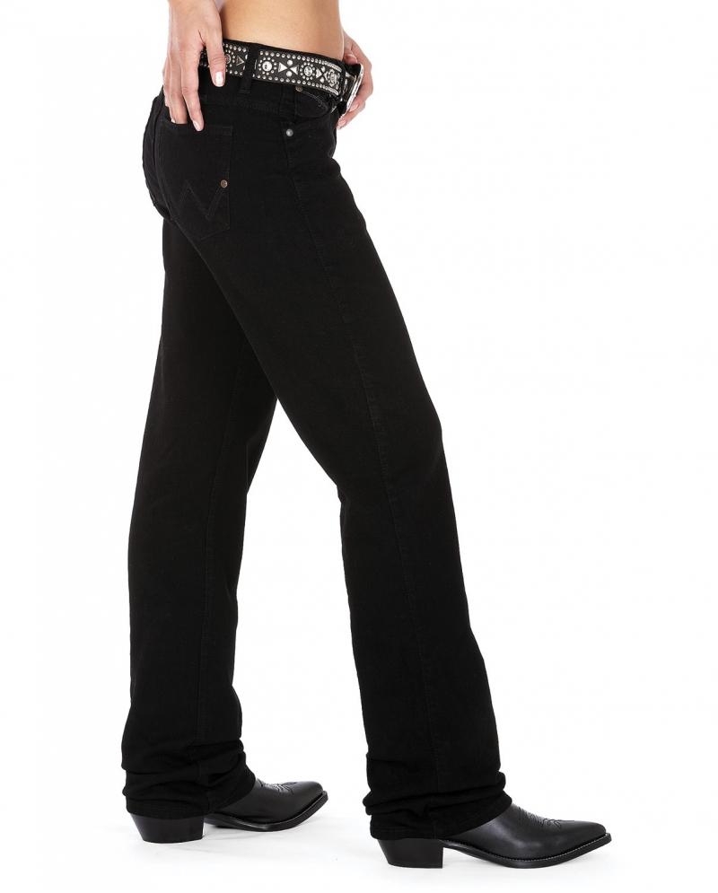 f5fa64ec Jeans Ladies Wrangler QBaby Black 13/14x32