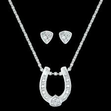 Montana Jewellery Set Trillion Solitaire