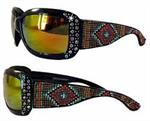 Sunglasses by Montana West-Aztec Beading #SGS-2109