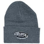 Weaver Knit Hat Gray
