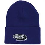 Weaver Knit Hat Purple
